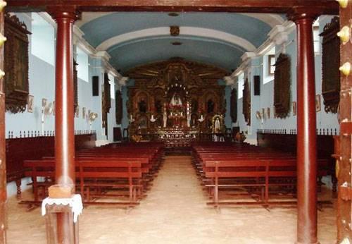 Entrada de la capilla la Huaca.