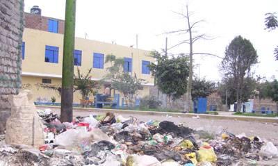 Esquina del parque San Juan.