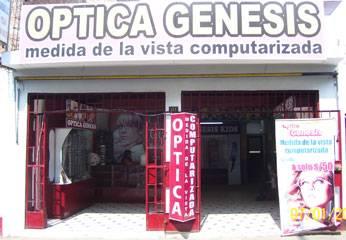 Óptica Génesis.