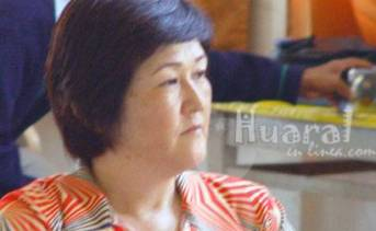 Regidora provincial de Huaral, Ana Kobayashi Kobayashi.