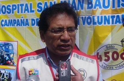 Dr. Francisco Chunga Olivos.