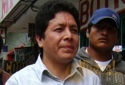 Grover Susanibar, regidor provincial y empresario huaralino.