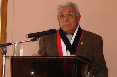 Presidente del Tribunal Constitucional Magistrado Juan Vergara Gotelli
