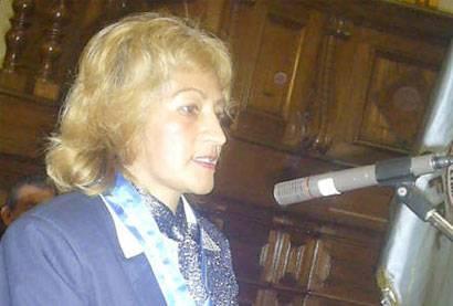 Lic. Rosario Morales Alberca, Past presidenta del Centro Federado de       Periodistas de Lima.