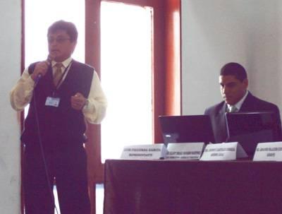 Representante en Huaral Luis Figueroa de Afocat Nuestra Sra. Asunción