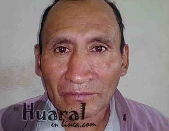 Jose Romero sujeto que intentaba distribuir billetes de 50 soles a comerciantes huaralinos