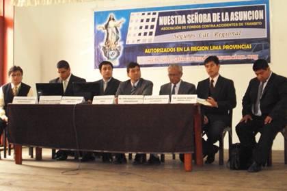 Directiva de Afocat NUESTRA SEÑORA DE LA ASUNCIÓN En Huaral