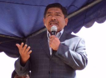 Vicepresidente regional Luís Custodio Calderón.