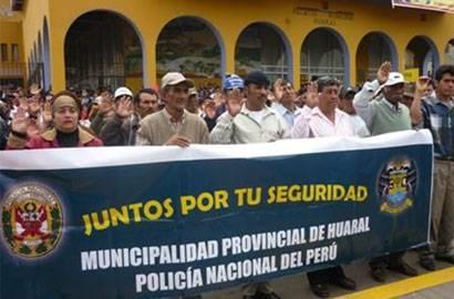 Junta Vecinales de Huaral.