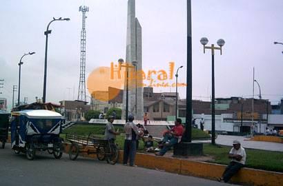Plaza Centenario de Huaral.