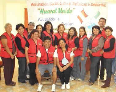 Integrantes de la Asociación Huaral Unidos 2009 dicembre foto para el rdo.