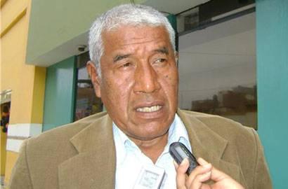 Alcalde de Huaral Jaime Uribe Ochoa.