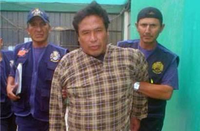"""Felipe Garay Ochoa, de 52 años de edad, natural de arequipa, (a) """"El Demonio Mistiano""""."""