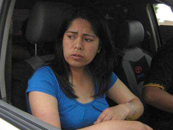 Alejandrina  Giraldo Loli víctima de asalto.