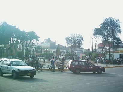 Plaza de Armas de Huaral.