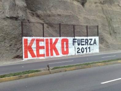 KEIKO PRESIDENTE 2011