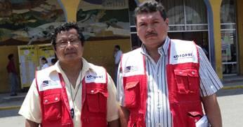 Representantes de COFOPRI.