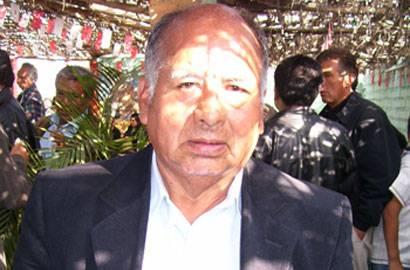 Alcalde Juan Carrasco Félix