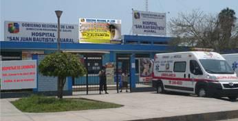 Hospital de Huaral.