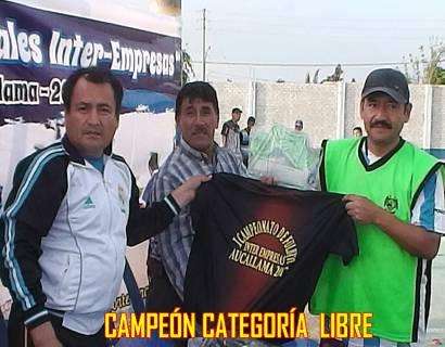 CAMPEON CATEGORIA LIBRE