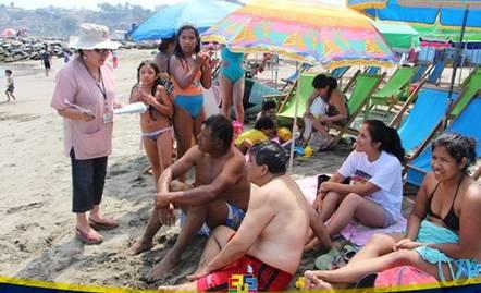 Gobierno Regional de Lima te brinda recomendaciones para disfrutar de un verano saludable en las playas