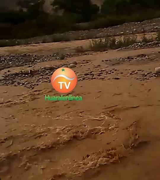 Alerta Rio Chancay en alto riesgo de desborde