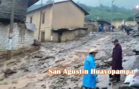 14 colegios fueron afectados por fuertes lluvias en la zona altoandina de Huaral