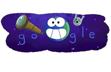 Google celebra el descubrimiento de 7 exoplanetas con un doodle