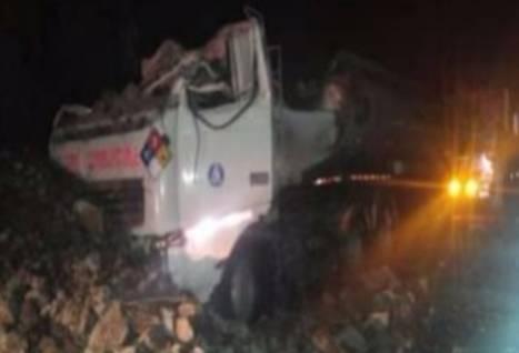 Huaico en la carretera Central deja dos personas fallecidas en Matucana