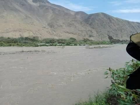 Disponen estado de alerta en zona de Palpa y alrededores ante entrada de huayco