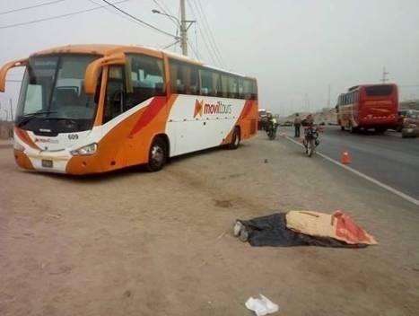 Muere atropellado un hombre en la carretera Panamericana Norte