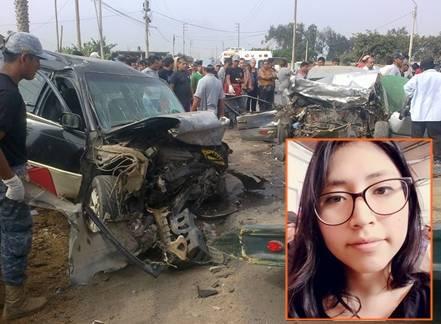 Joven pide ayuda para recuperarse de accidente en que fallecieron 2 personas en Aucallama