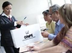 ONPE plantea medidas de prevención para comicios electorales frente a la pandemia.