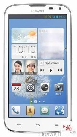 Huawei G610S front
