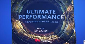 Huawei Mate 10 Launch
