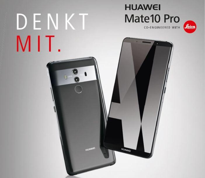 Huawei Mate 10 Pro Seite