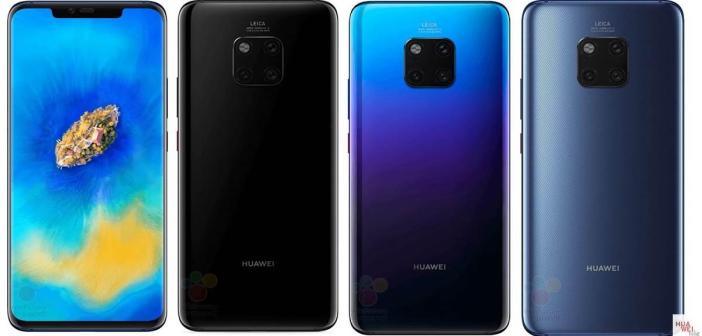 Huawei Mate 20 – Alle Details vorab geleakt