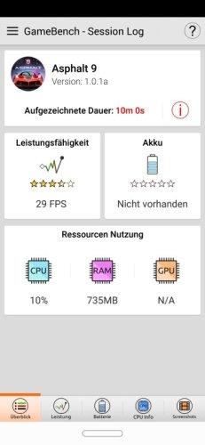 Huawei Mate 20 Lite Gaming Benchmark