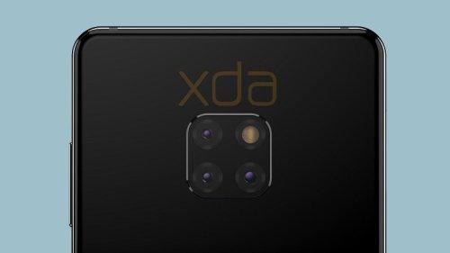 Huawei Mate 20 Render XDA Kamera