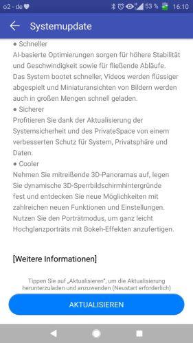 Huawei Mate 9 Oreo Changelog 3