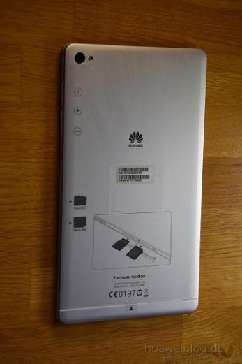 Huawei MediaPad M2 8.0 Rückseite