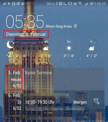 Huawei P10 Oreo Beta Bug