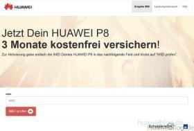 Huawei P8 Schutzbrief