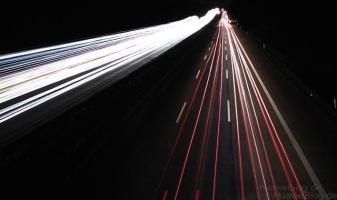 Huawei P8 - Kamera - Lichtmalerei - Rücklichtspuren - Light painting