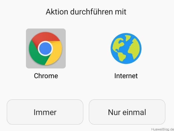 Huawei Browser - Standard - Abfrage