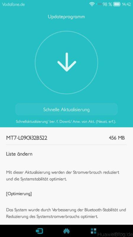 Huawei Mate 7 - Marshmallow - Update - Android 6 - EMUI 4.0 - final - Download - B522