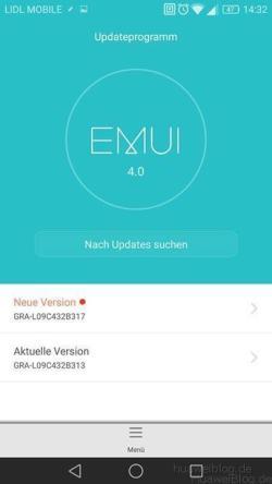 Huawei P8 Marshmallow Update B317