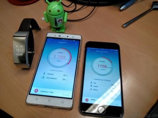 """TBB"""" mit P8 und iPhone 6"""