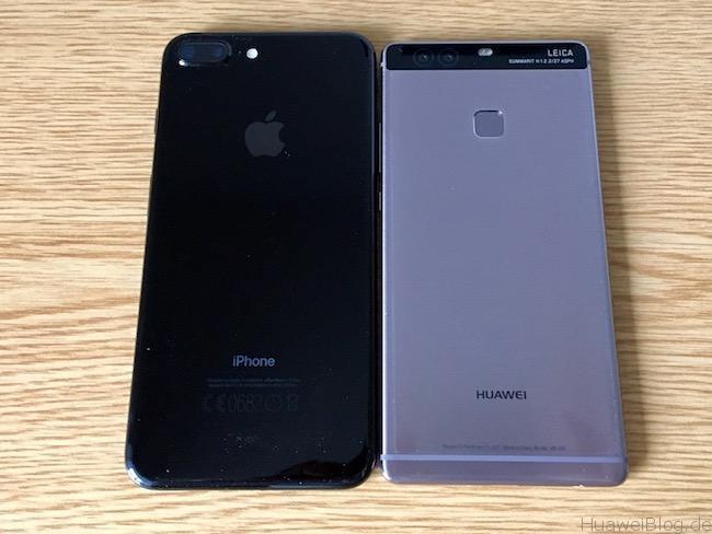 Huawei P9 Plus Vs IPhone 7