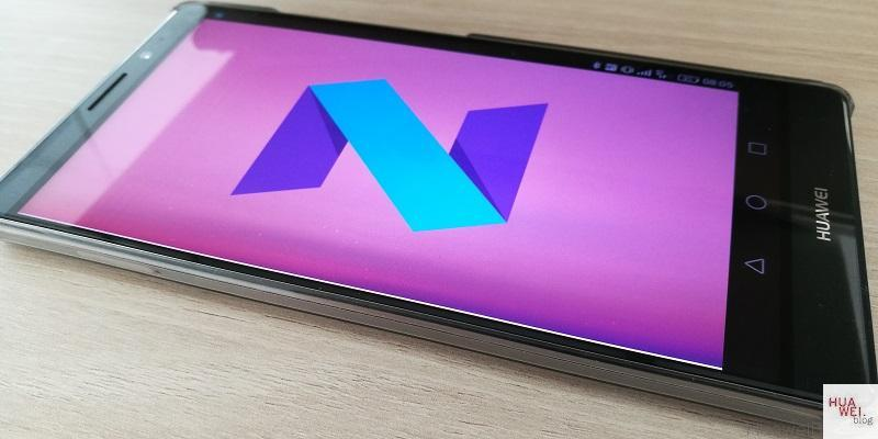 Huawei Mate 8 Android Nougat